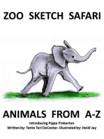 Zoo Sketch Safari