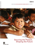 World Bank East Asia and Pacific Economic Update 2011, Volume 1: Securing the Present, Shaping the Future