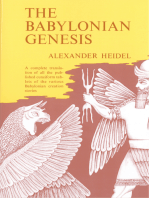 The Babylonian Genesis