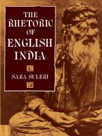 The Rhetoric of English India