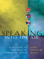 Speaking into the Air