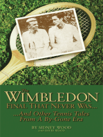 The Wimbledon Final That Never Was . . .