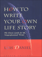 How to Write Your Own Life Story