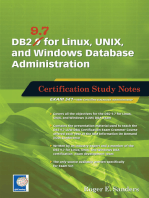 DB2 9.7 for Linux, UNIX, and Windows Database Administration