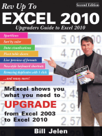 Rev Up to Excel 2010: Upgraders Guide to Excel 2010