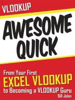 VLOOKUP Awesome Quick