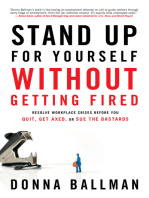 Stand Up For Yourself Without Getting Fired