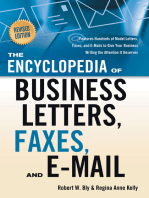 The Encyclopedia of Business Letters, Faxes, and E-mail, Revised Edition