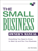 The Small Business Owner's Manual