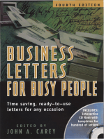 Business Letters for Busy People, Fourth Edition