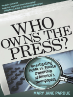 Who Owns the Press?: Investigating Public vs. Private Ownership of America's Newspapers