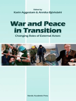 War and Peace in Transition