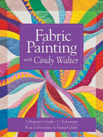 Fabric Painting with Cindy Walter