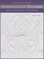 Sophisticated Stitches: Designs for Quilting, Appliqué, Sashiko & Embroidery