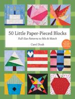50 Little Paper- Pieced Blocks