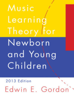 Music Learning Theory for Newborn and Young Children