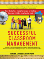 Successful Classroom Management
