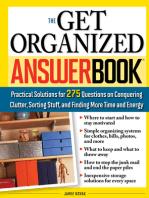 Get Organized Answer Book