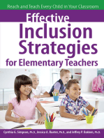 Effective Inclusion Strategies for Elementary Teachers