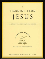 Learning from Jesus