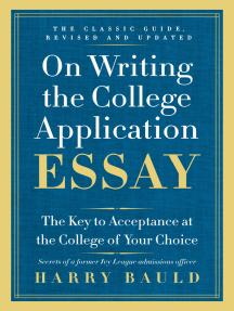 College application writers 8th edition online