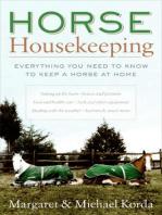 Horse Housekeeping