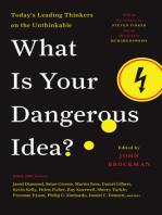 What Is Your Dangerous Idea?
