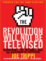 The Revolution Will Not Be Televised Revised Ed