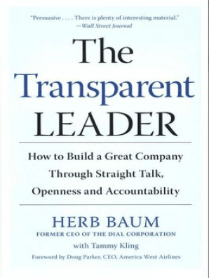 The Transparent Leader by Herb Baum and Tammy Kling - Read Online