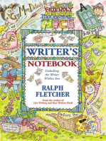 A Writer's Notebook