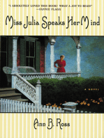Miss Julia Speaks Her Mind