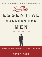 Essential Manners for Men 2nd Ed