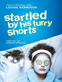 Startled by His Furry Shorts