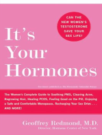 It's Your Hormones