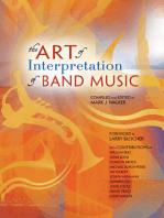 The Art of Interpretation of Band Music