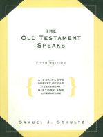 The Old Testament Speaks, Fifth Edition