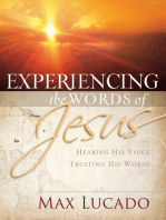 Experiencing the Words of Jesus