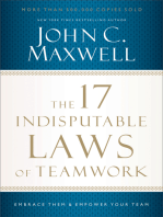 The 17 Indisputable Laws of Teamwork