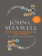 Everyone Communicates, Few Connect