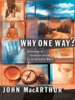 Why One Way?