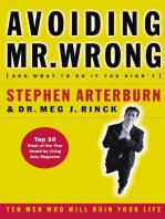 Avoiding Mr. Wrong