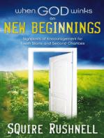 When God Winks on New Beginnings