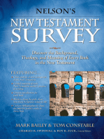 Nelson's New Testament Survey