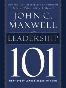 Read Leadership 101 Online By John C Maxwell Books