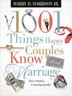 1001 Things Happy Couples Know About Marriage