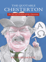 The Quotable Chesterton