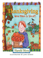 Thanksgiving, What Makes It Special?
