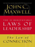 Leadership 101 by john c maxwell by john c maxwell read online law of connection lesson 10 from the 21 irrefutable laws of leadership fandeluxe Images
