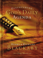 Discovering God's Daily Agenda