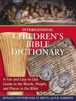 International Children's Bible Dictionary